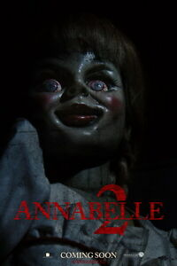"002 ANNABELLA - Horror Thriller USA Movie 14""x21"" Poster"