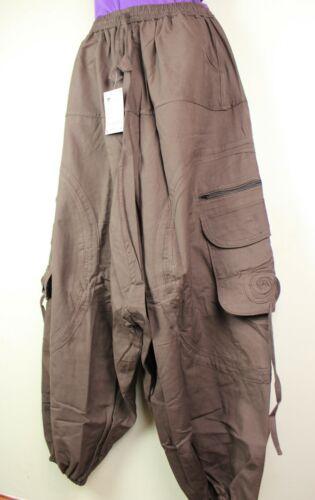 Trousers Combat Festival Hippy Alibaba Harem Baggy Boho Pants Aladdin Casual AB9