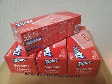 *CONFIRMED ORDER* Supreme Ziploc Zip Lock Bags Box of 30 Count 100/% AUTHENTIC