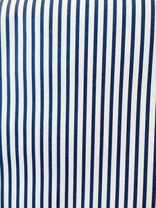 Image Is Loading Striped Wallpaper Navy Blue Off White Stripes Warner