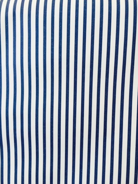 Striped Wallpaper Navy Blue Off White Stripes Warner Wfm4207 Double Rolls
