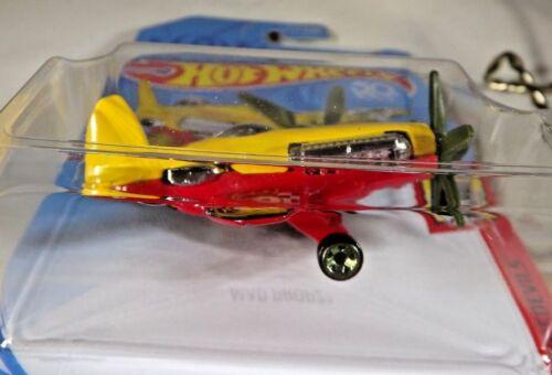2018 Hot Wheels FRR91 HW DAREDEVILS 4//5 MAD PROPZ Plane Yellow//Red w//Green MW5Sp
