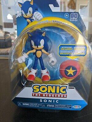 New Sonic The Hedgehog Jakks Pacific 4 Inch Star Spring Action Figure 192995403840 Ebay