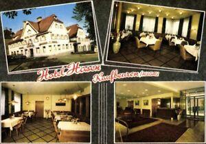 Alte-AK-PK-Postkarte-ungelaufen-Foto-Mehrbild-Hotel-Hasen-Kaufbeuren-Allgaeu