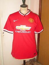Maillot shirt trikot maglia MANCHESTER UNITED  2014-2015 jersey NIKE MU ENGLAND