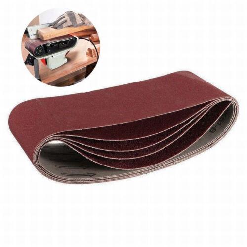 "3/""x18/""  Sanding Belts 75x457mm 40~1000 Grit For Wood Metal Grinding Sander Tool"