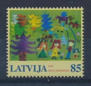 Lettonie-674-CACHET-CEPT-1556