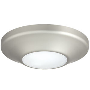 Details About Progress Lighting 5 63 In W Brushed Nickel Led Flush Mount Light Energy Star