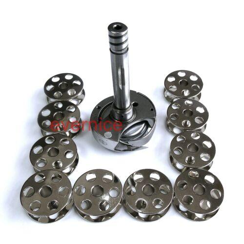 Pour Singer 211U 212U Artisan 4400RB MARCHE PIED MACHINE Rotatif crochet 10 bobines