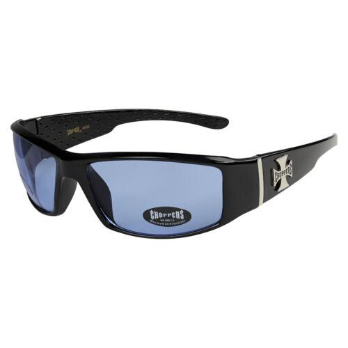 Choppers 313 Sonnenbrille Brille blaue blau getönte Linsen Gläser Herren Damen