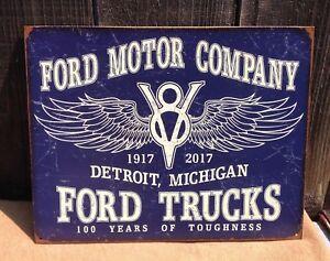 Ford Motor Company Nostalgia Metal Sign