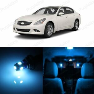 2017 Infiniti G37 >> Details About 15 X Ice Blue Led Interior Light Package For 2008 2017 Infiniti G37 Q50 Tool