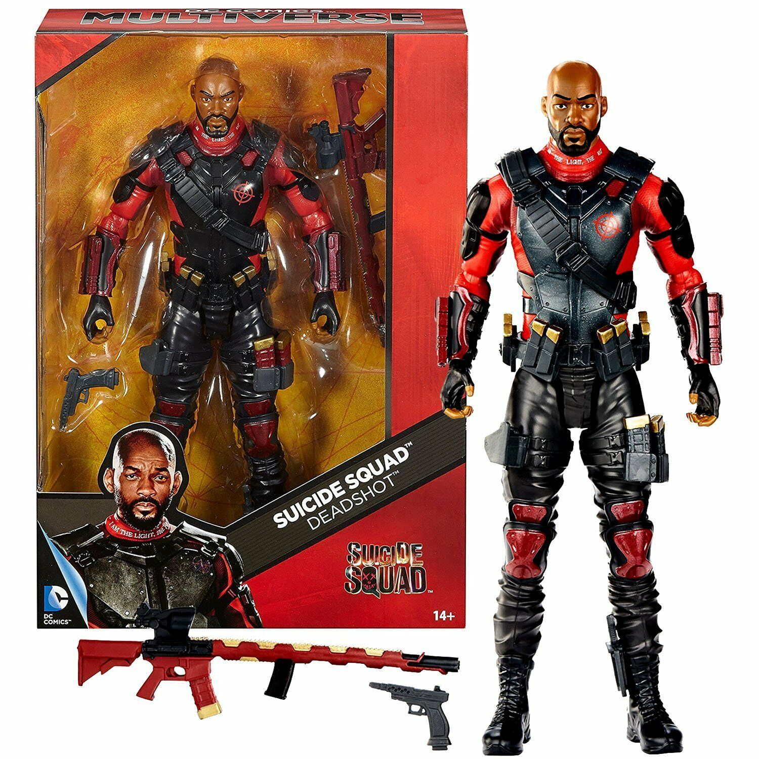 Dc multiversum  selbstmordkommando deadshot will smith.