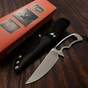 MARBLES KNIFE FIXED BLADE MR329 NYLON SHEATH CAMPING HUNTING SURVIVAL