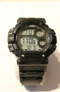4You Armbanduhr Kunstoff Digital Kunstoffarmband 2500010000