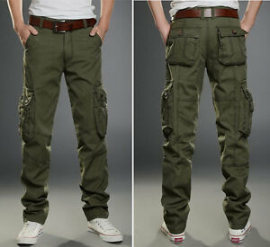 NEW Men's MILITARY cargo camo army green combat pants style Size ...