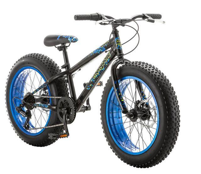 Mongoose Bike 20 Inch Boys Fat Tire Bikes Kong 7-speed Boy Mountain ...