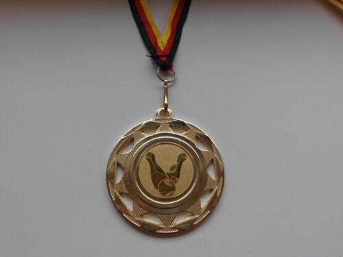 Kegeln Kegler Pokal Kids 20 x Medaillen mit Band&Emblem Turnier Pokale (e109)