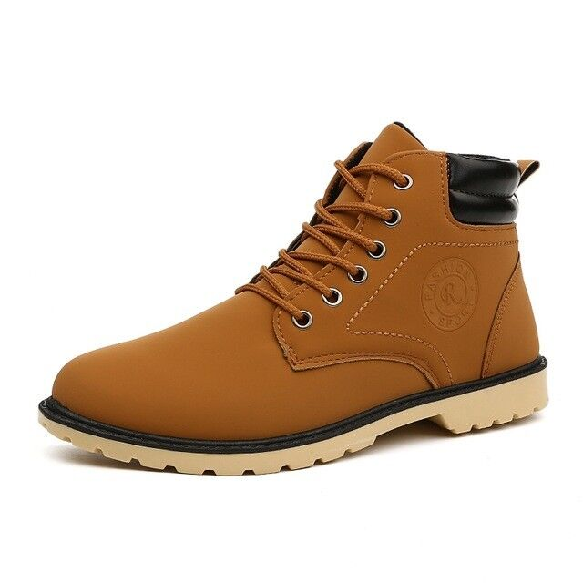New Leather Style Shoes Men Martin Shoes Mens Zapatos Hombre Outdoor Work Shoes