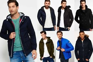 New-Mens-Superdry-Jackets-Selection-Various-Styles-amp-Colours-0811