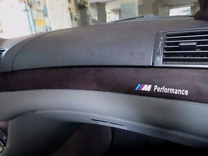 Bmw E46 M3 3 Series Interior Trim Alcantara Facture M Performance Ebay