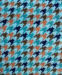 DOG TOOTH print 100% cotton Fabric 45