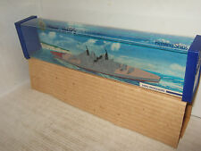 Minic Ships M741 by Hornby-Triang , HMS Vanguard with Glidewheels 1:1200 Scale
