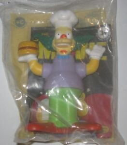 2007 The Simpsons Movie Burger King Kids Meal Toy Krusty The Clown Ebay