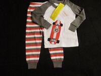 Gymboree Boy's Winter Pajamas-size 18-24 Months