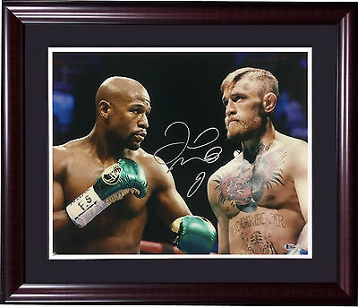 Signed Photograph Floyd Mayweather Jr BAS Beckett COA 16x20 w Autographed Boxing Photos PSA//DNA Certified