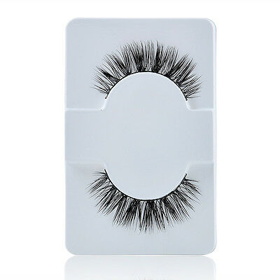 1 pair Fashion Women Makeup Handmade Mink Hair Long Eye Lashes False Eyelashes
