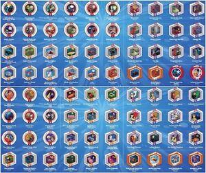 Disney Infinity Power Discs 20 Marvel Avengers Originals Works
