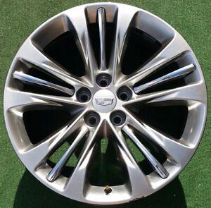 Factory Cadillac Ct6 20 Inch Wheels Set 4 2019 Genuine Gm Oem Platinum Cts Xts Ebay