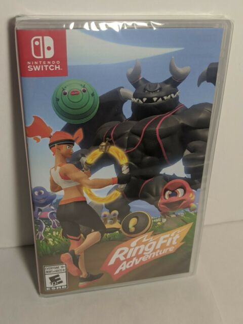 Ring Fit Adventure For Nintendo Switch GAME ONLY Brand New SEALED!