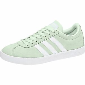 Details about Adidas Ladies Vl Court 2.0 W Trainers Shoes DB1218 Aero Green