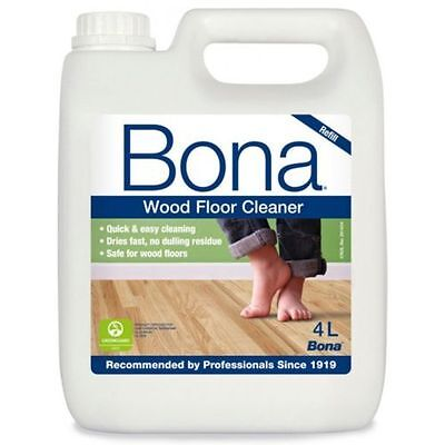 Bona Wood Floor Cleaner Refill 4 Ltr