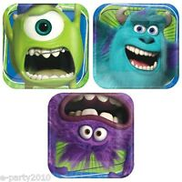 Monsters University Small Paper Plates (8) Birthday Party Supplies Cake Sulley