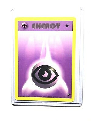 Pokemon 1st Ed NM//M Gym Heroes Set COMMON Psychic Energy 131//132