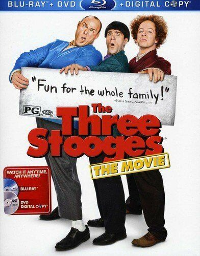 Three Stooges the movie Will Sasso 2 DISC SET Blu-ray+DVD ...