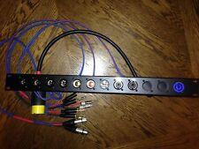 DJ audio patch bay , Rackmount, Amplifier , Patchbay , Xlr