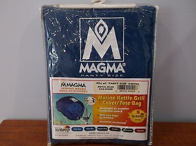 "Magma A10-492JB Jet Black Sunbrella Cover Kettle Party Size 17/"" Boat RV Grill"