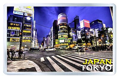 TOKYO JAPAN JAPON IMAN NEVERA PANORAMICO MAGNET SOUVENIR