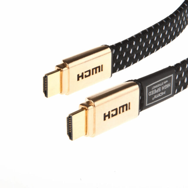 Laptone High Speed Gold 1m HDMI Cable for Ps4 Gaming Upto 60fps HD 4k  Resolution