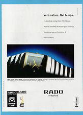 BELLEU998-PUBBLICITA'/ADVERTISING-1998- RADO DIASTAR SINTRA JUBIKLE