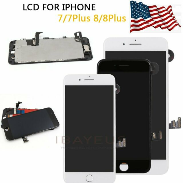 Original For iphone 7 8 Plus 5 5''Touch Screen LCD Display Replacement  Digitizer