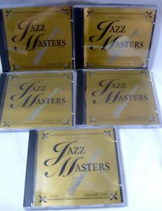 Details about Original Jazz Masters Series Volume 2 - 5 CD Box Set Mint  Armstrong Monk