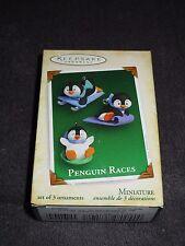 Hallmark Keepsake Ornament, Penguin Races 2005