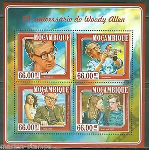 MOZAMBIQUE-80th-BIRTH-ANNIVERSARY-OF-WOODY-ALLEN-SHEET-MINT-NH