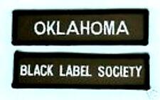 BLACK LABEL SOCIETY OKLAHOMA MEMBER FAN CLUB PATCH SET