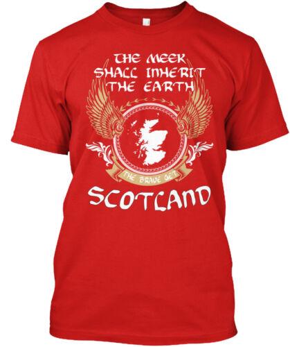 Le brave Get Scotland-Meek shacc Hériter de la terre Standard Unisexe T-Shirt